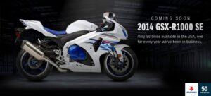 2014 GSXR-1000 SE