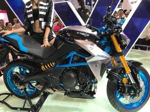 אופנוע חדש לקימקו K Rider 400