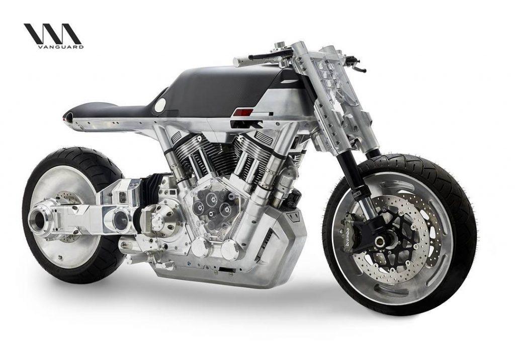 יצרן אופנועים אמריקאי חדש Vanguard