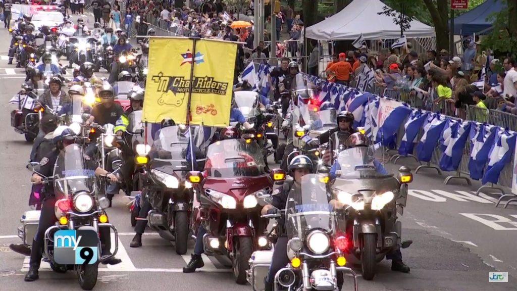 מצעד לכבוד ישראל במנהטן 4 ביוני 2017 – האופנוענים